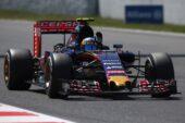 Carlos Sainz jr. driving the STR10