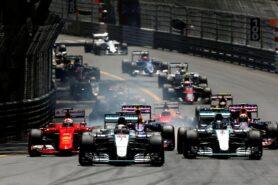 2015 Monaco F1 GP start