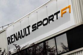 Renault F1 head office in Viry