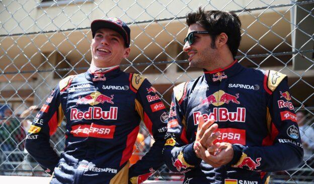 Max Verstappen & Carlos Sainz Jr.