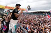 Lewis Hamilton after his 2015 British GP win