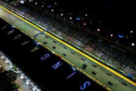 start of the 2015 Singapore Formula 1 grand prix