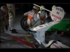 Pit Stop with Force India F1 Team & BBC Sport