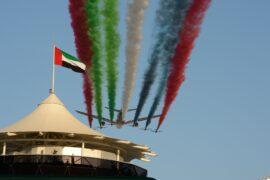 Abu Dhabi fly-by