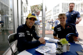 Felipe Nasr and Marcus Ericsson