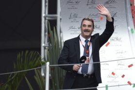 """Nigel Mansell - """"F1 fans are everything"""" By Peter Windsor"""