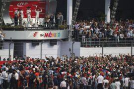 2015 Mexican podium : 1. Rosberg 2. Hamilton 3. Bottas