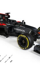 2016 McLaren Honda MP4-31 Front Three Quarter