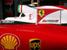 Ferrari SF16-H engine cover