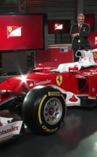 Ferrari SF16-H left-front view