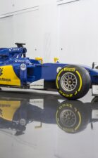 Sauber C34 right-side view
