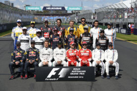 All F1 drivers that started the 2016 F1 season