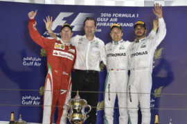 Race results 2016 Bahrain F1 Grand Prix