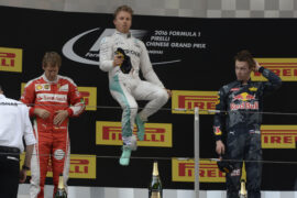 Race results 2016 Chinese F1 Grand Prix