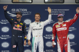 Top 3 qualifiers 2016 Chinese F1 GP