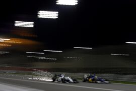 Felipe Massa, Williams FW38 Mercedes passes Marcus Ericsson, Sauber C35 Ferrari