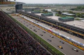 Startgrid 2016 Chinese F1 GP
