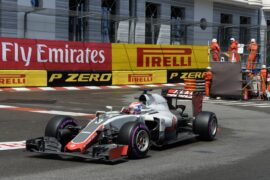Romain Grosjean, Haas VF-16 , 2016 Monaco GP