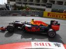 Daniel Ricciardo driving his Red Bull RB12 at Monaco