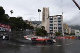 Sebastian Vettel drives his Ferrari SF16-H at Monaco
