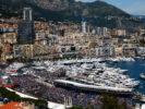 Daniel Ricciardo driving the Red Bull RB12 at Monaco