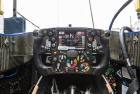 Sauber C35 F1 steeringwheel