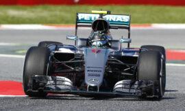 Nico Rosberg & Narain Karthikeyan crash Abu Dhabi 2012