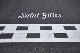Start & finish line of Circuit Gilles Villeneuve in Canada