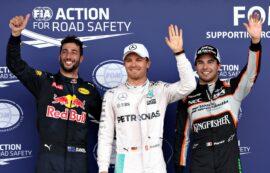 Qualifying results 2016 European F1 Grand Prix