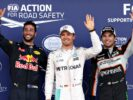Top 3 qualifyers 2016 European F1 GP - 1. Rosberg 2. Ricciardo 3. Perez