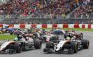 Nico Hulkenberg VS Sergio Perez driving the Force India VJM09