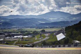 Mercedes W07 on track at Austrian GP 2016