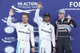 Top 3 qualifiers 2016 Austria GP: 1. Hamilton 2. Rosberg 3. Hulkenberg