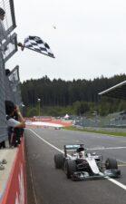 Lewis Hamilton Mercedes W07 at Redbull Ring Austrian GP 2016