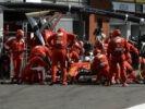 Ferrari Pit stop GP BELGIUM F1/2016