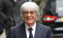 Ecclestone announced to be father again