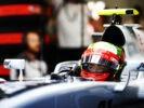 Esteban Gutierrez at Spa-Francorchamps, Spa, Belgium.