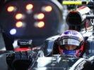 Jenson Button in car.