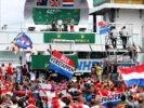 Fans support German GP F1/2016