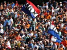 SPA, BELGIUM F1/2016: Max Verstappen Fans in the grandstand.