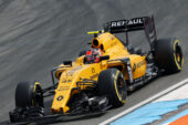 Esteban Ocon (FRA) Renault Sport F1 Team R16 Test Driver. German GP F1/2016