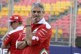 Maurizio Arrivabene GP SINGAPORE F1/2016