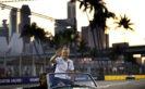 Marina Bay Circuit, Marina Bay, Singapore 2016. Valtteri Bottas, Williams Martini Racing, in the drivers parade.