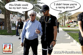 Abu Dhabi could be Ecclestone's last F1 race