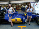 Girls atmosphere Singapore GP F1/2016.