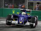Marcus Ericsson (SWE) Sauber F1 Team. Marina Bay street Circuit. Singapore GP F1/2016