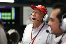 Niki Lauda sends video message to Mercedes team