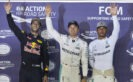 Formula One - MERCEDES AMG PETRONAS, Singapore GP 2016. Lewis Hamilton, Nico Rosberg;