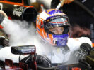 Jenson Button in the garage. Singapore GP F1/2016