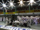 Marina Bay Circuit, Marina Bay, Singapore 2016 Felipe Massa, Williams FW38 Mercedes, makes a pit stop during the race.